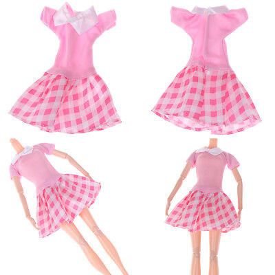 Handmade party dress doll clothes dolls accessories for girl giftsSN
