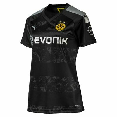 Puma Football Soccer Borussia Dortmund BVB Womens Away Jersey Shirt 2019 2020
