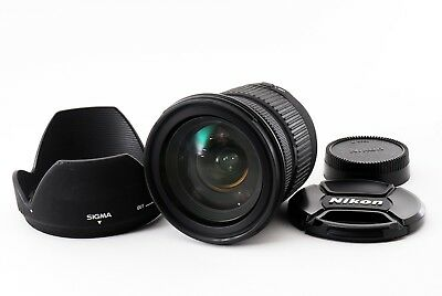 Sigma DC 17-70mm f/2.8-4 AF Macro Lens For Nikon AS-IS From Japan For Parts