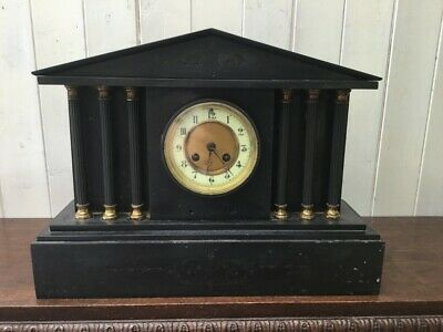 Antique Slate Mantel Clock