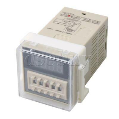 Plastic DC/AC 12V Programmable Single Timer Delay Relay Timer DH48S-1Z