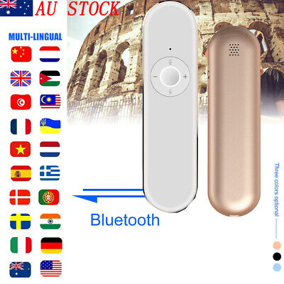 Smart Instant Voice Translator AI 42 Languages Speech Interactive Translation AU