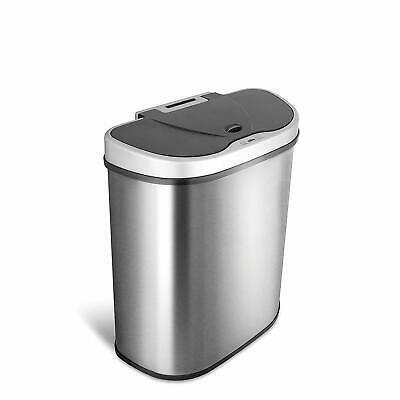 HOMIU Motion Sensor Househo Recycle and Rubbish Bin 50/70 Litre Stainless Steel