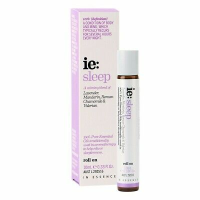 In Essence Sleep Essential Oil Roll On 10Ml *Item Comes Unboxed*