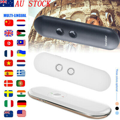 AI Smart Voice Translator Portable Two-Way Real Time 42-Languages Translation AU