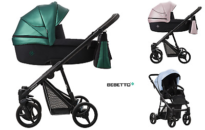 Stroller Bebetto Nitello 2in1 carrycot pram sport seat pushchiar