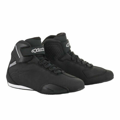 Alpinestars Sektor Men's Motorcycle Shoes Black