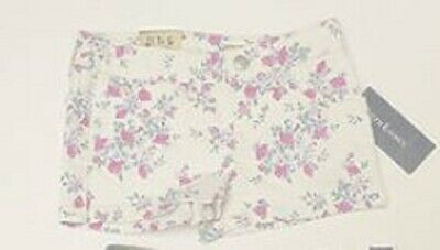 Girls shorts floral white denim designer age 2 3 4 5 6 years