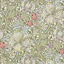 210398 Golden Lily William Morris Wallpaper 60 00