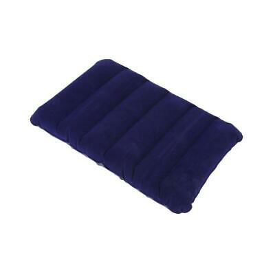 Large Inflatable Travel Flocking Pillow For Outdoor Camping Or Home Office LJ