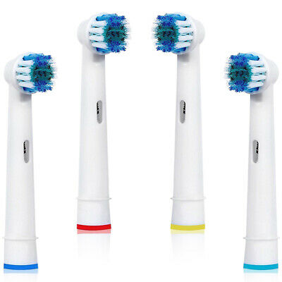 4 Brush Heads Compatible With Oral B Replacement Brush Professional 9000 Model