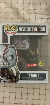 Funko Pop! #159 Resident Evil Tyrant Target Exclusive Glow in dark 6-inch