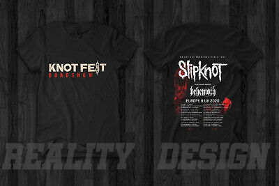 Slipknot Knotfest Roadshow Tour 2019 Merch T Shirt Metal We Are Not Your Kind
