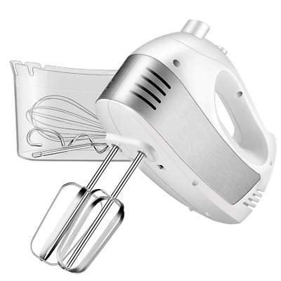 Hand Mixer Electric, Cusinaid 5-Speed Hand Mixer with Turbo Handheld Kitchen and