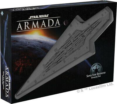 Star Wars Armada - Super Star Destroyer Expansion Executor Imperial Ship SSD