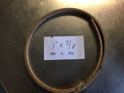 WOVEN BRAKE BAND SHOE MATERIAL 2x3//8 HIGH FRICTION NO ASBESTOS FORD SOLD BY FOOT