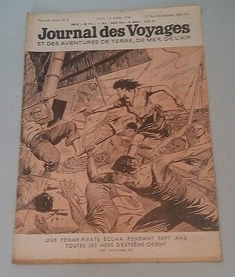 Journal of Voyages No No 3 Jeudi 14 Mars 1946 One Femme-Pirate