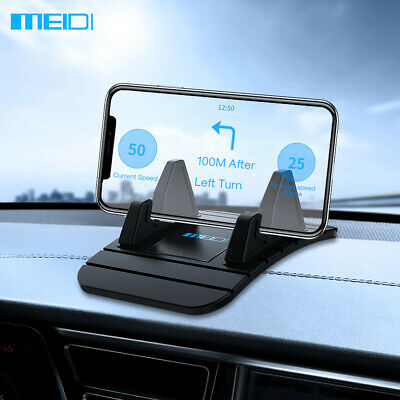 MEIDI Dashboard Non-slip Mat Rubber Mount Phone Holder Pad Mobile Stand In Car
