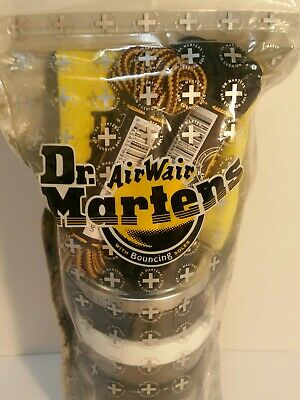 Dr. Martens Shoe Care Kit, Black + Brown Laces, Cloth, Laces NEW Free Shipping