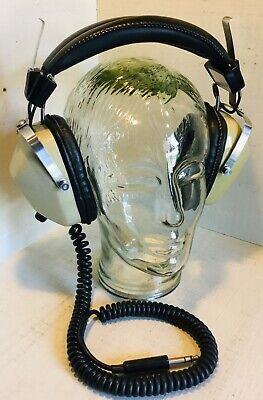 HOSIDEN DH-08-S Vintage Stereo Headphone JAPAN 1970's TESTED & WORKING