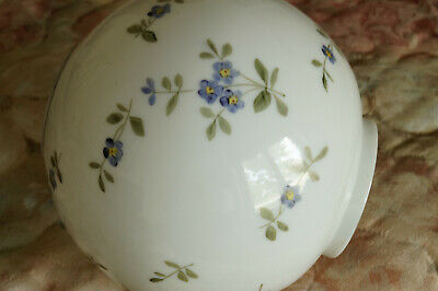 Antique Ball Shade For Gwtw Or Banquet Oil Lamp