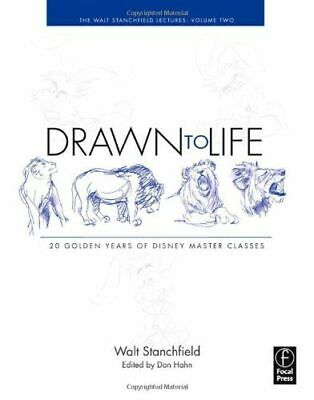 Drawn To Life: 20 Golden Years Of Disney Master Classes Stanchfield Walt Pa NEW