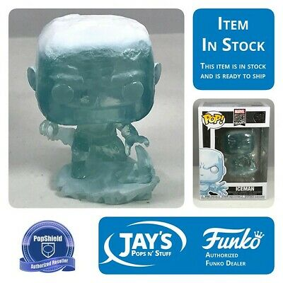 Funko Pop! Marvel 80th 1st Appearance Iceman Pop!  w/ Protector In Stock 10/14