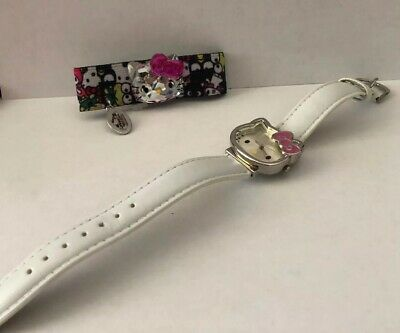Hello Kitty Watch And Braclet Combo Lot Girls Fashion Cute