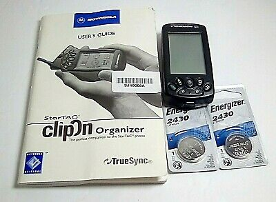 StarTAC ClipOn Organizer (perfect companion to the StarTac phone) Pre-Owned