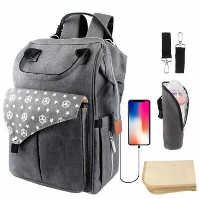 Changing Bag, Dumx Multifunction Waterproof Rucksack for Mom/Dad, Baby Changing