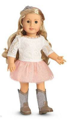 NEW American Girl Tenney Spotlight Outfit with Boots Retired NRFB