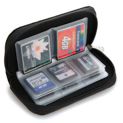 1 pc Memory Card Storage Carrying Zipper Pouch Case Protector Holder Wallet