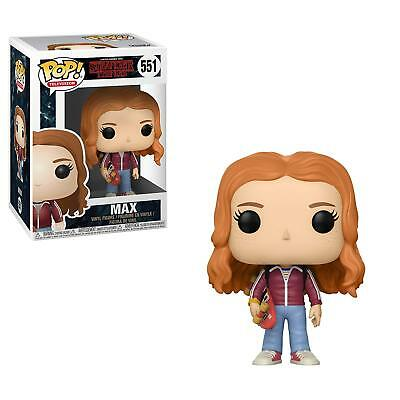 FUNKO POP! TELEVISION: Stranger Things - Max w/ Stakeboard Vinyl Figure