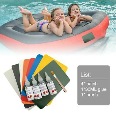 THICK HEAVY DUTY Vinyl Repair Patch+Glue: Inflatables Boat