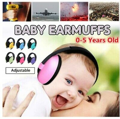 Adjustable Baby Noise Cancelling Headphones Safety Earmuffs Kids Ear Protection