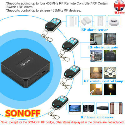 SONOFF RF 433MHz Smart Home Automation Modules Wifi Wireless Switch M9T2
