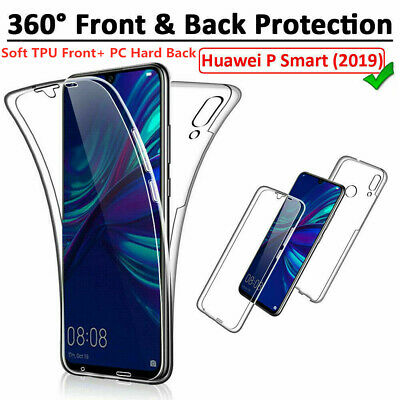 Case for Huawei P Smart 2019 Honor 20 Shockproof 360° Full Cover Front & Back
