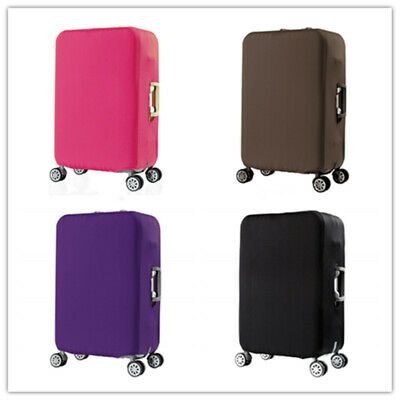 "19""-32"" Travel Luggage Cover Elastic Suitcase Washable Anti-Scratch Protector"