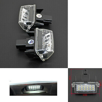 LED License Plate Light Assy For Toyota Camry Toyota Highlander Toyota Avalon