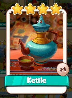 Kettle  Coin Master   Fast Delivery