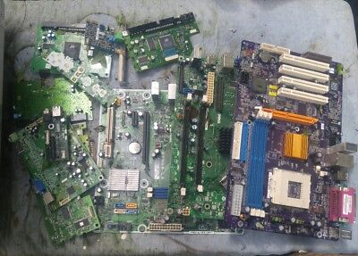 000 23 Pounds Motherboards Computer Cards Green Boards Scrap Gold Recovery