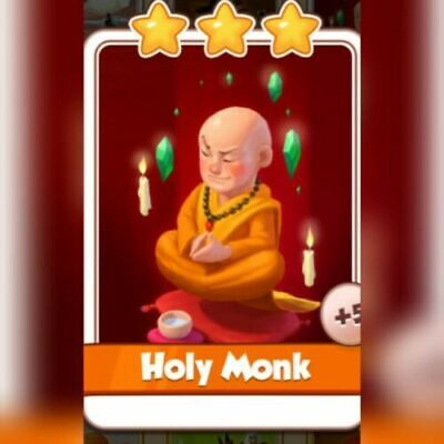 Coin Master Card  - Holy Monk fast delivery
