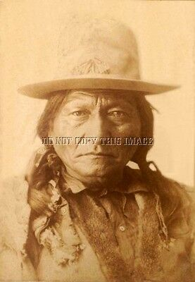 Antique Reproduction 8X10 Photograph Chief Sitting Bull