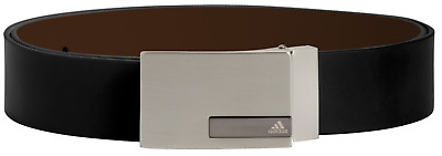 Adidas Reversible Leather Belt (MSRP $50) Black/Brown Cut to Size up to 42inch