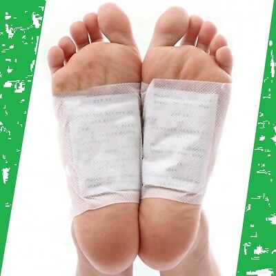 20 pcs Detox Foot Pads Patch Detoxify Toxins Fit Health Care with Adhesive