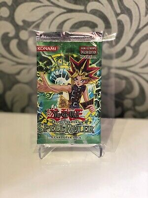 Yugioh Spell Ruler Booster 1st Edition Factory Error Misprint New Sealed MRL-E