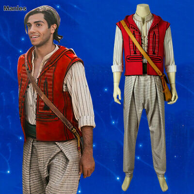 sid1 Live-Action Aladdin Costume Prince Cosplay Uniform Anime Outfits Hallo