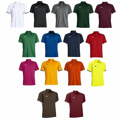 Under Armour UA Mens Rival Polo Golf Shirt 1306583 - Choose Color & Size