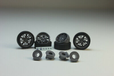 HAMANN wheels set 4 pcs KolkhozZZ/_Division 1:43 K tires, rims, brakes, decals