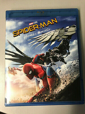 Spider Man Spiderman Home Coming Homecoming Tom Holland Blu Ray ☆